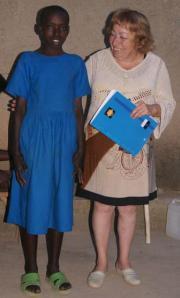 Théodette Nyirandimukaga avec Fernande