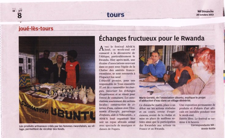 Article NR 20 octobre 2013