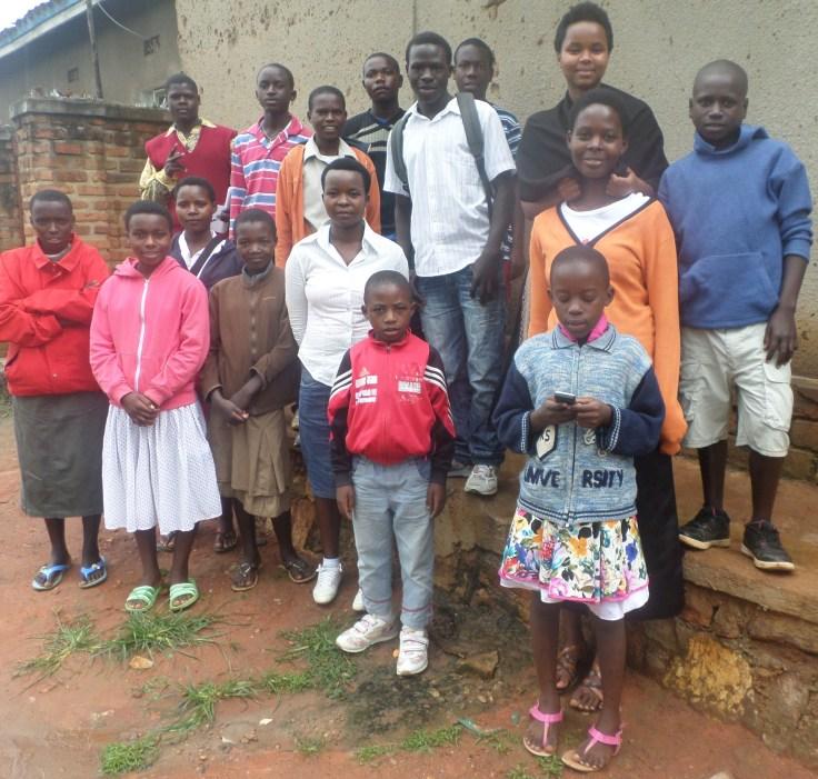 Rencontre des enfants parrainés décembre 2014