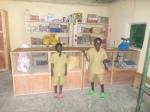 Dans la boutique de la coopérative Abihuje